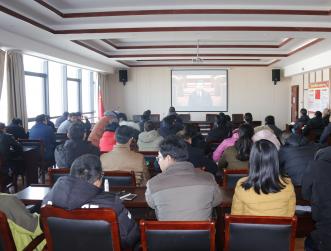 我院组织党员干部收看庆祝改革开放40周年大会直播